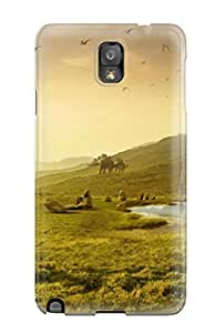 For Galaxy Case, High Quality Pet Dinosaurs Training For Galaxy Note 3 Cover Cases