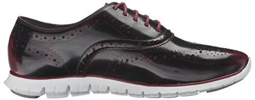 UK Haan Off Zinfandel Oxford Zerogrand Women's Leather 6 5 Cole Optic White Brush Red Wing 8FHwnq