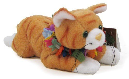 Hawaiian Kitty Cat Plush Collectible Toy by Hawaiian Collectibles