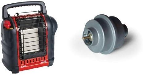 Heater F232000 MH9BX Buddy 4,000-9,000-BTU Indoor-Safe Portable Radiant Heat Mr