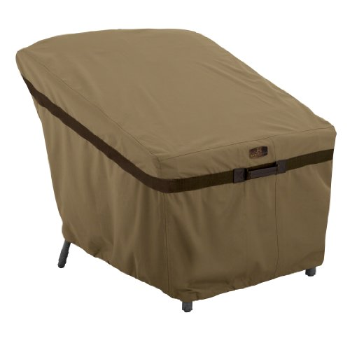 Classic Accessories Hickory Heavy Duty Patio Lounge Chair Cover – Durable and Water Resistant Patio Set Cover (55-206-012401-EC)