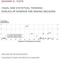 Visual and Statistical Thinking: Displays of Evidence for Making Decisions