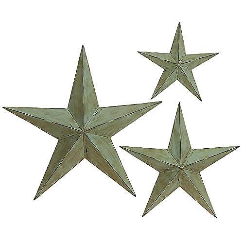 Metal Stars Outdoor Wall Decor: Amazon.com
