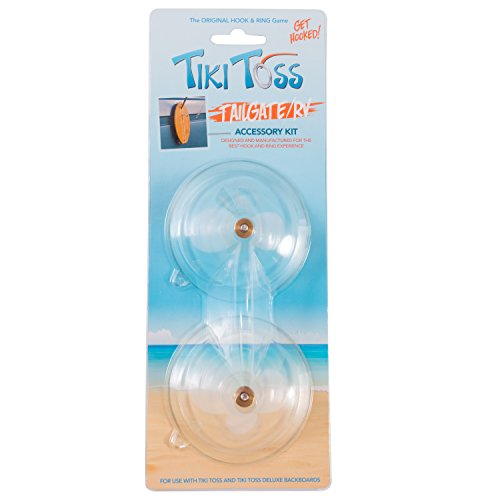 Tiki Accessories (Tiki Toss Suction Cups - Tailgating / RV Accessory Kit - Easily Attach Your Tiki Toss Game To Any Smooth Surface)