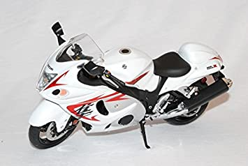 Suzuki GSX1300R Hayabusa Weiss 1 12 Wits Modell Motorrad Auto