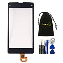 Mencia Replacement Parts For Sony Xperia Z1 Mini Touch Digitizer Screen Assembly Unit for Sony Z1 Mini Compact Z1c M51w D5503 4.3 inch with Tool (NO LCD)