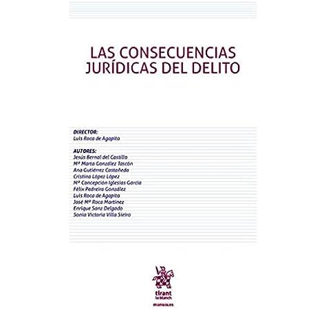 Las Consecuencias Jurídicas del Delito Manuales de Derecho Penal: Amazon.es: Roca de Agapito, Luis: Libros