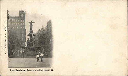 Tyler-Davidson Fountain Cincinnati, Ohio Original Vintage ()