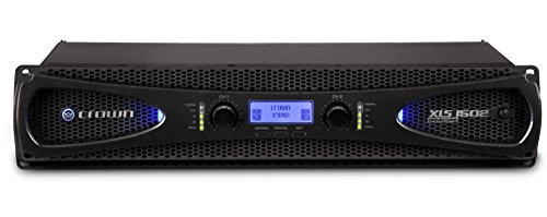 (Crown XLS1502 Two-channel, 525W at 4Ω Power Amplifier)