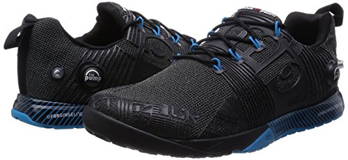 Reebok R Crossfit Nano Pump FS Scarpe Sport, Multicolore (Schwarz/Blau (Schwarz/Far Out Blau)), 43 Schwarz / Blau (Schwarz / Far Out Blau)