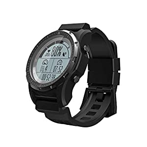 Smart Watch GPS Compass Heart Rate Monitor Activity Tracker Sports Outdoor Climbing Hiking Temperature Speedometer Watches for Men