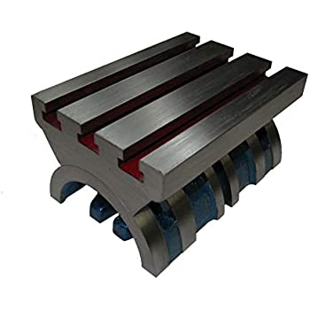 "7/"" Adjustable Swivel Angle Plate Tilting Table Heavy Duty for Milling Machines"