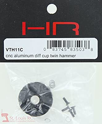 Hot Racing VTH11C Aluminum Differential Housing (carrier) - Twin Hammer