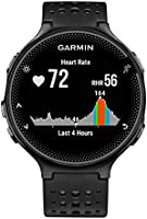 Garmin 010-03717-54 Forerunner 235 Running Watch, Black/Gray
