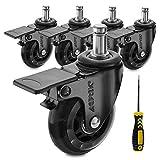 AGPtek Heavy Duty Caster Wheels