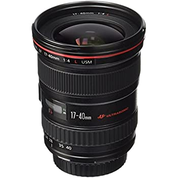 Canon EF 17-40mm f/4L USM Ultra Wide Angle Zoom Lens for Canon SLR Cameras