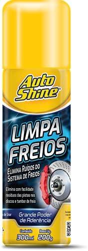 LIMPA FREIOS 300ML AEROSSOL Autoshine, Incolor