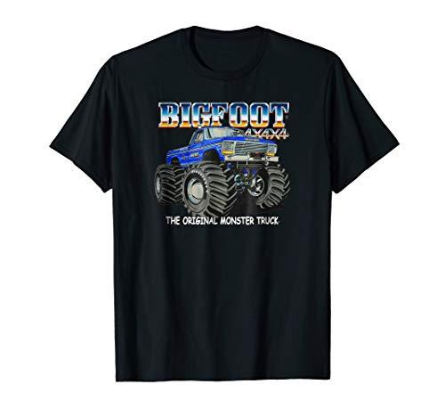 - BIGFOOT #1 The Original Monster Truck T-Shirt (Color Opts 1)