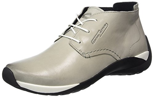 Camel Active 844.73, Zapatos Derby Mujer Gris (Ice 04)
