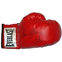 $94 » Thomas Hearns signed Everlast Right Boxing Glove Hitman - Autographed Boxing Gloves
