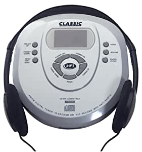 Classic portable cd player with mp3 capability for Classic house cd