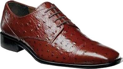 Stacy Adams Men's Amori 24776,Cognac Leather,US 15 W