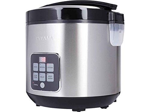 **OPEN BOX**Tayama TRC-50H1Digital Rice Cooker & Food Steame