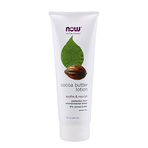 Now Foods Cocoa Butter Lotion - 8 oz. 2 Pack