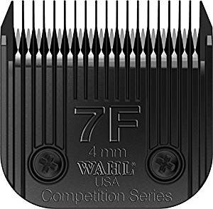 (Wahl Professional Animal Full Ultimate Blade #7F With a Bonus Blade Cleaning Brush)