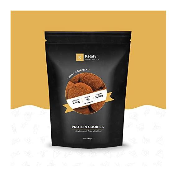 Ketofy - Choco-Chip Protein Cookies (500g)