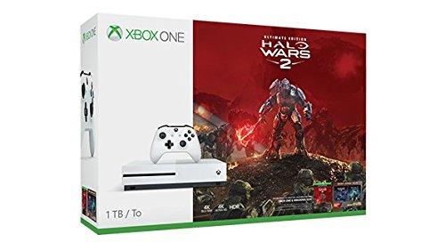 Xbox One S 1TB Console - Halo Wars 2 Bundle: Amazon co uk