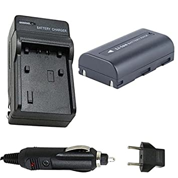 791e9030b4e9 SB-LSM80 Battery and Charger for Samsung SC-D453, SC-D455, SC-D457 Digital  Camcorder: Amazon.ca: Electronics