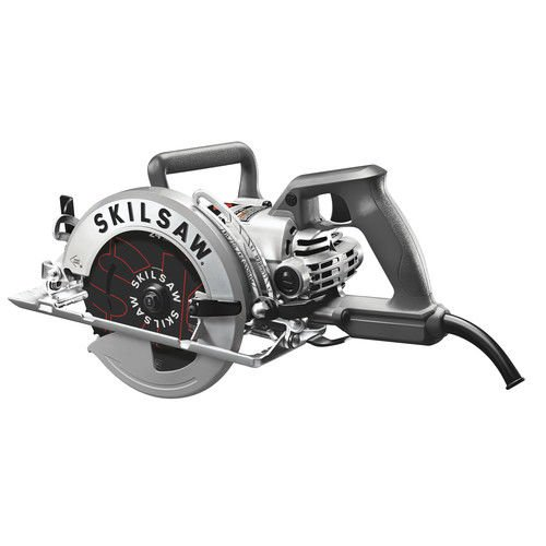SKILSAW SPT77W-RT 7-1/4 in. Aluminum Worm Drive Circular Saw with Carbide Blade (Certified Refurbished)