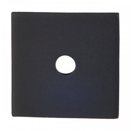 Top Knobs Square Backplate Flat Black