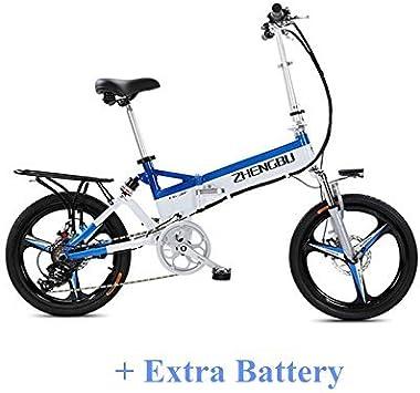 ZHENGBU ZB-FH 240W 48V 10.4Ah 20 Pulgadas Bicicleta eléctrica ...