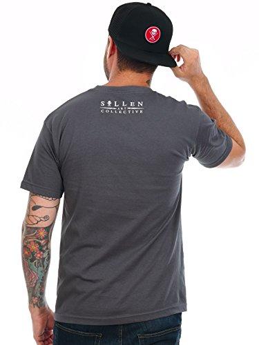 Sullen T-Shirt Idle Hands Dark Grau