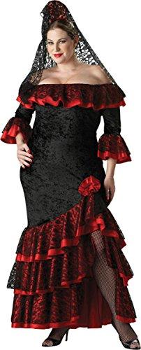 Senorita Adult Costume - Plus Size 2X]()