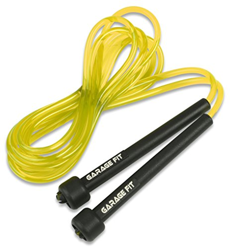 Garage Fit 9' PVC Jump Rope for Cardio Fitness - Great for both kids and adults …
