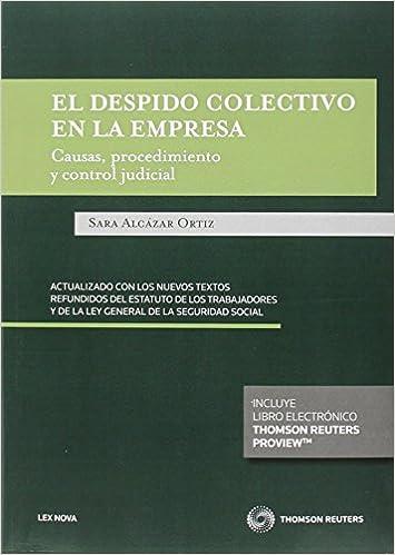 Descargas de audiolibros mp3 gratis en línea Despido Colectivo En La Empresa (Monografía) PDF ePub