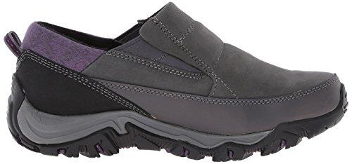 Merrell Polarand Rove Moc invierno impermeable Resbalón-en el zapato Granite