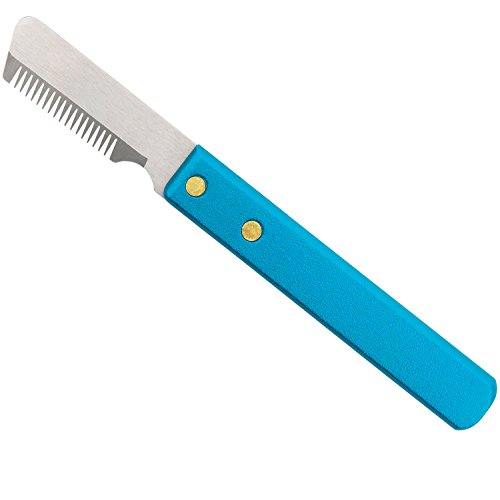 Master Grooming Tools Stripping Knives - Non-Slip Tools for Grooming Dogs - Medium, 6¾
