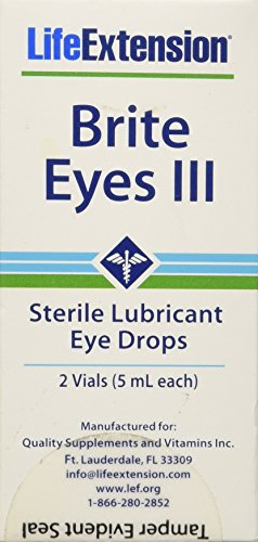 Life Extension Brite Eyes 2 Vials (5 Ml Each), Healthcare/Health Care
