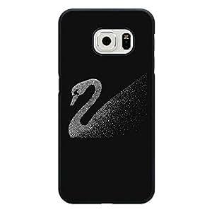 classical style SWAROVSKI logo phone case for Samsung Galaxy S6 Edge luxury SWAROVSKI logo shell case