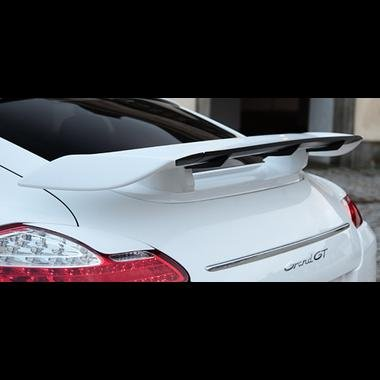 Porsche Panamera TechArt Grand GT Style Spoiler Wing with Carbon Fiber Blade