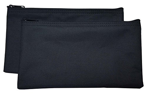 - Zipper Bags Poly Cloth Value Package of 2 Bags (Black)