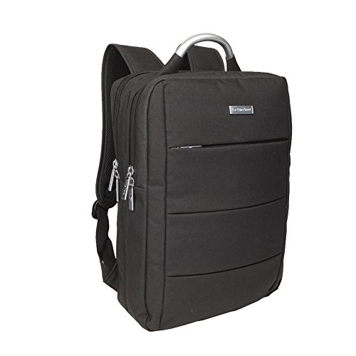 Slim Business Laptop Backpack Travel Bag for Men and Women fit up to 15.6 Inch Macbook Computers, - Square Policy Return
