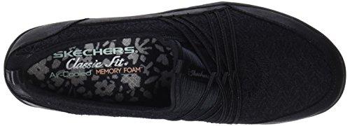 Skechers Vrouwen Keizerin-breed-wakker Zwart