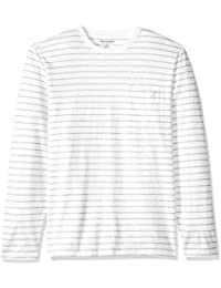 Men's Regular-Fit Long-Sleeve Patterned T-Shirt