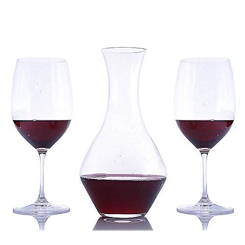 Cabernet Magnum Wine Decanter and 2 Stemmed Wine Glasses 3pc Set By Riedel (3 Piece Set)