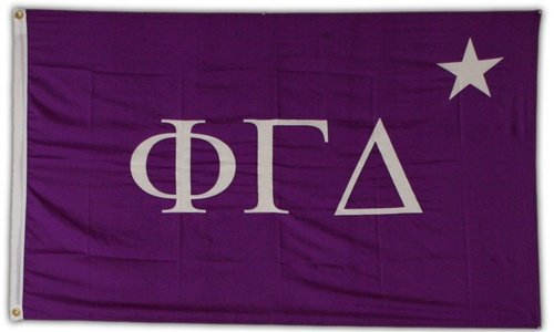 Phi Gamma Delta Official 3′ X 5′ Flag For Sale